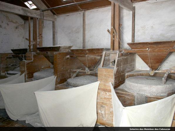 Interior dos Moinhos dos Caboucos